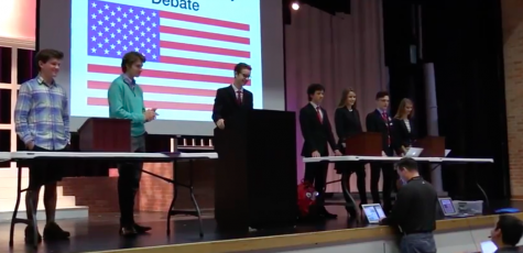 Students get real life experience in political process