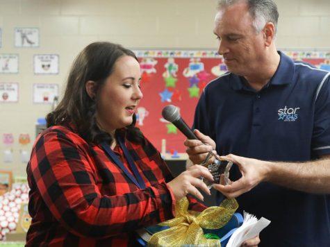 "Photo Gallery: Rockbrook Elementary teacher awarded ""Teacher of the Week"" by Star 104.5"