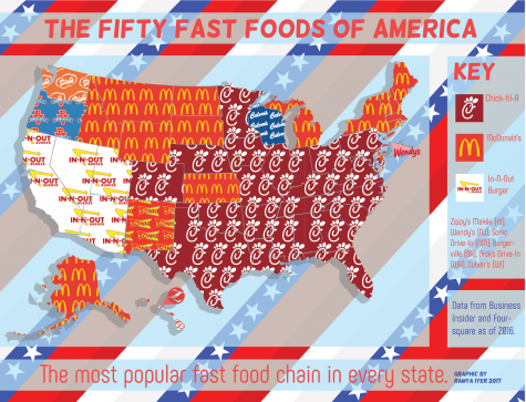 Fast Food According to States…