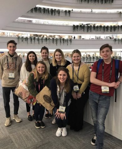Marketing students travel 987 miles to gain real world experience
