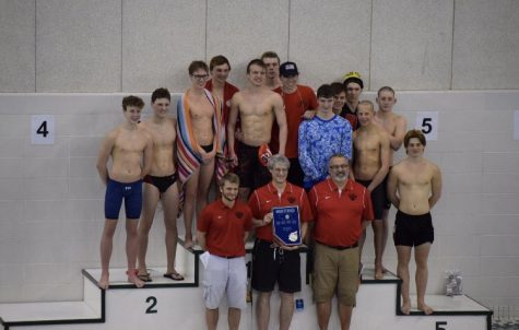 Photo Gallery/RECAP: Varsity boys and girls swim teams place first and third at Metro Conference