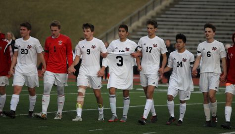 Photo Gallery/RECAP: Boys soccer moves to 7-0, honors former player