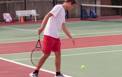 Freshmen on Varsity Tennis Emerge as State Contenders