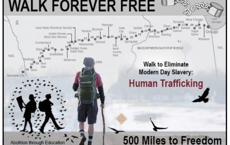 History Teacher Barry Jurgensen Walked 527 Miles To Raise Awareness For Human Trafficking