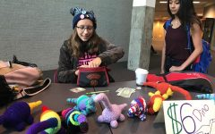Student Sells and Crochets Dinosaurs