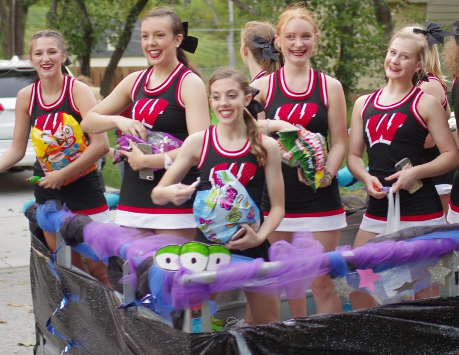 Photo Gallery: Homecoming Parade and Pep Rally