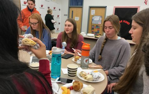 Guidance Department Sponsors Breakfast to Celebrate ACT Scores