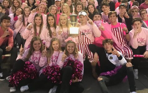 Red Shield receives award for best student section