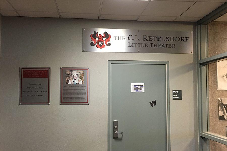 Little Theater Renamed To Honor Former Teacher