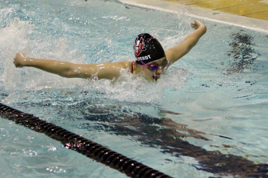 Westside Swim Team Prepares for Rest of Season with Grueling Week