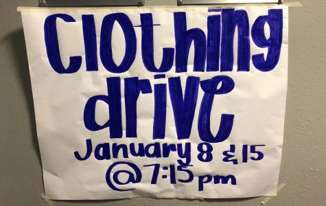 Junior Marketing Students Organize a Clothing Drive