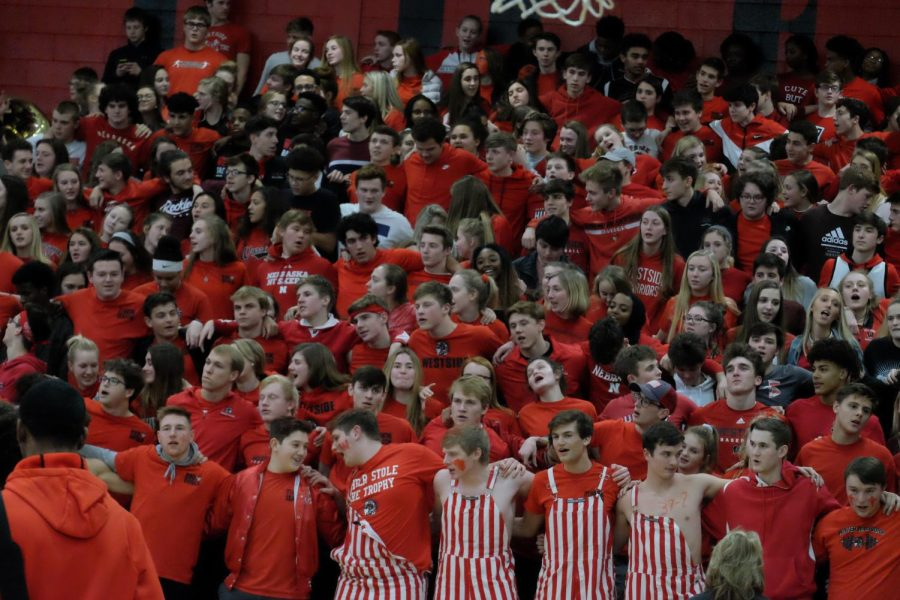 The+Westside+Red+Shield+is+the+official+student+section+of+Westside+High+School.