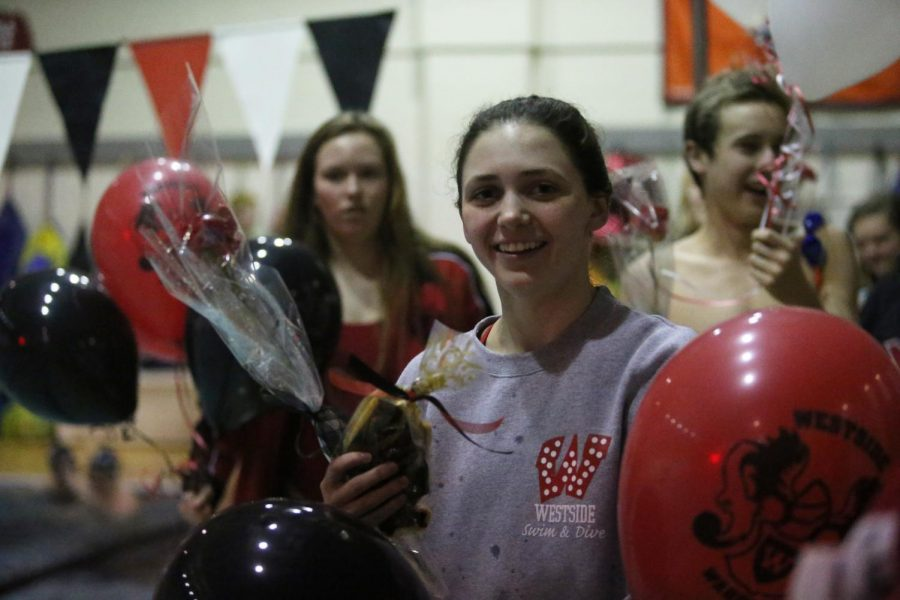 Photo Gallery: Swim Team Senior Night Feb. 5, 2019