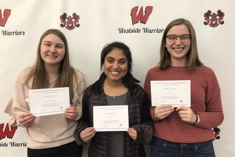 Westside Team Wins Computer Science Competition