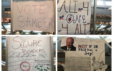 Government students continue mock-election in second semester