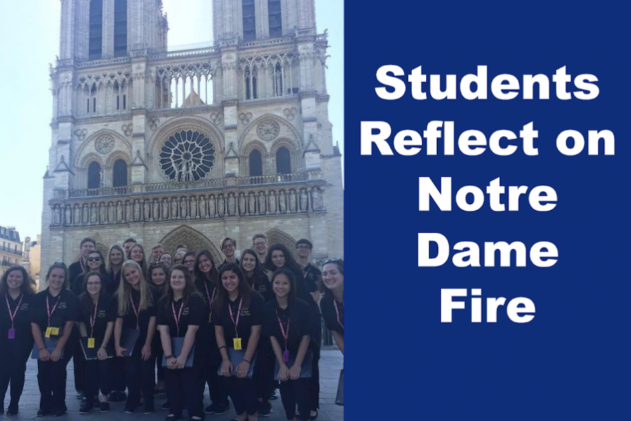 Students Reflect on Notre Dame Fire