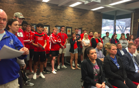Westside School Board Acknowledges Student Presence, Further Action Pending