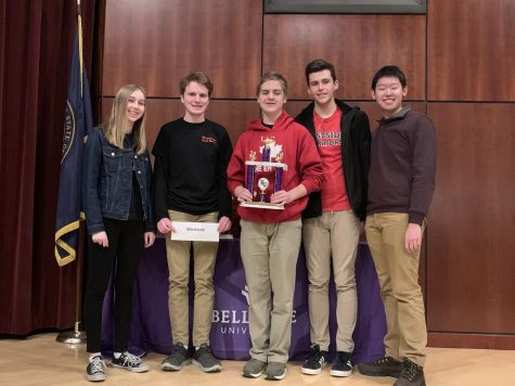 Quiz Bowl Takes Home First Place at Regional Tournament