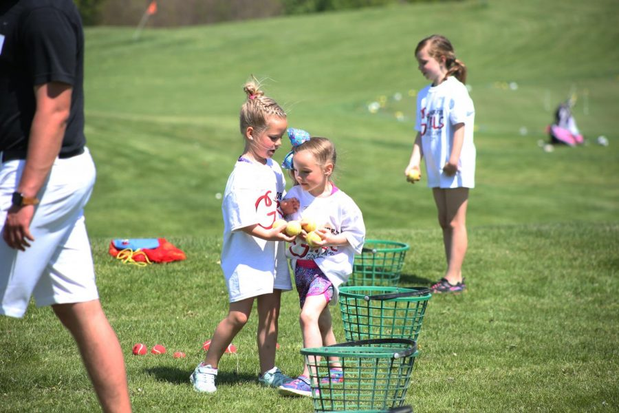 Photo Gallery: Warrior Girls Golf Camp May 4, 2019