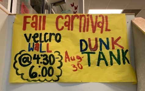 Preview: Student Council Hosts Annual Fall Kickoff Carnival