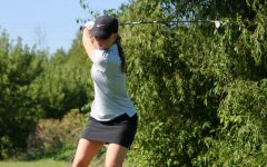Girls Golf Breaks School Record