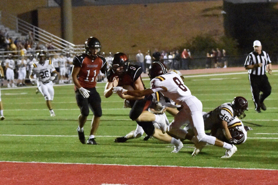 Westside junior Cole Payton rushed for a 10 yard touchdown Friday night.