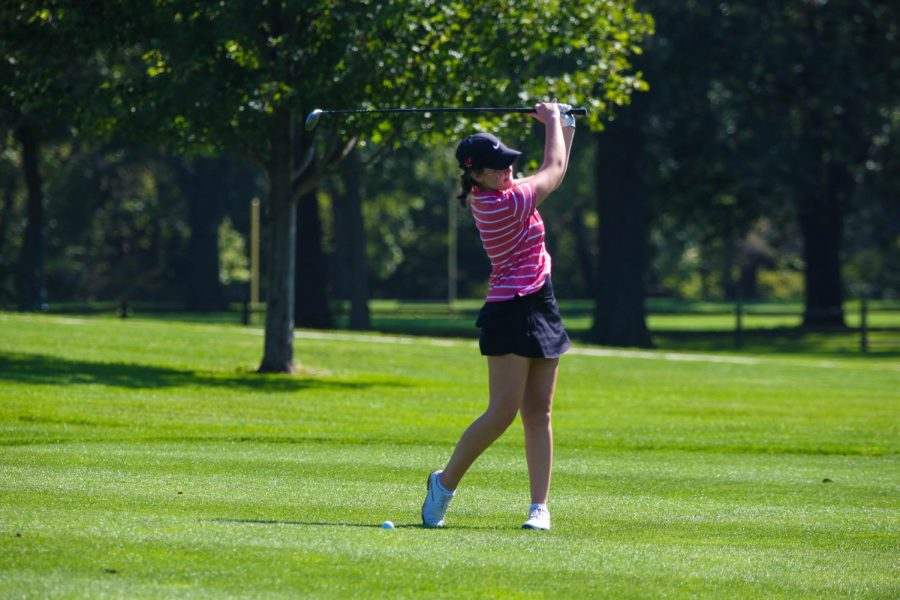 Girls+Golf+Places+Second%2C+Qualifies+for+Second+Straight+State+Tournament
