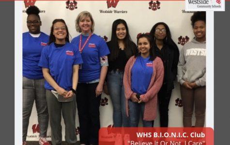 Westside B.I.O.N.I.C. Club Holds Third Annual 10/10 I Care Day