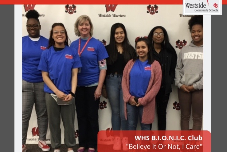 Westside's BIONIC Club hosts their third annual 10/10 I care day.
