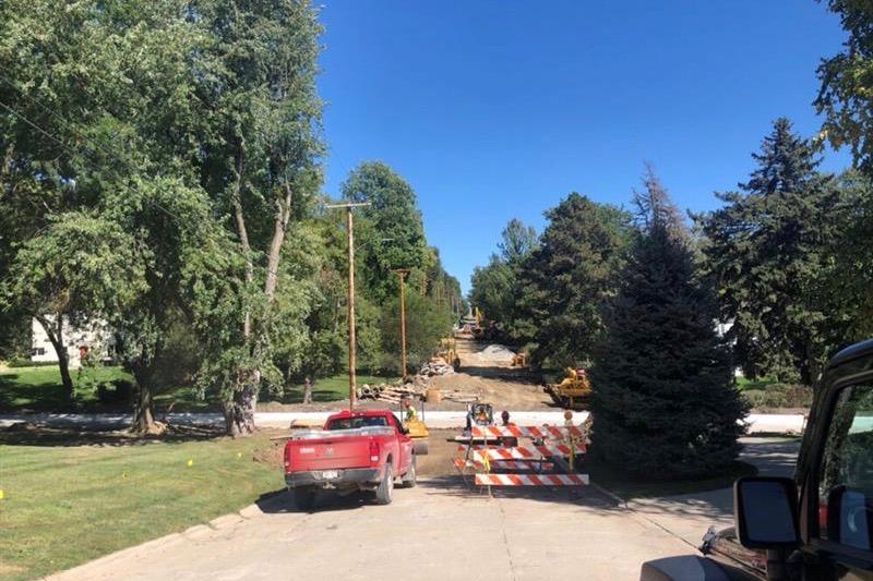 Construction on Ridgewood Avenue has recently showed immense progress.