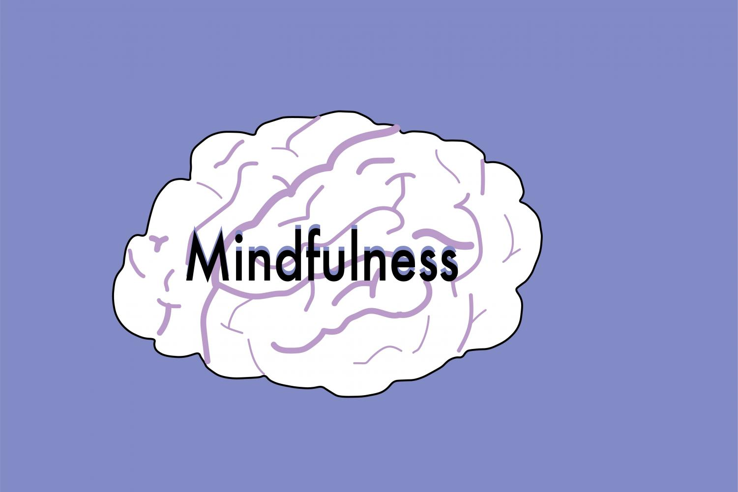 Mindfulness is a program that helps relax the brain.