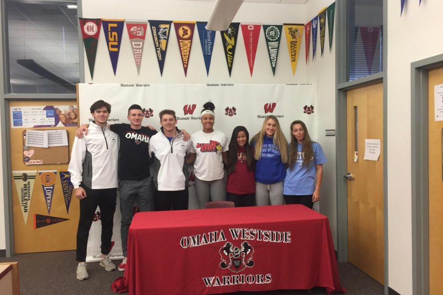 Seven+Athletes+Sign+National+Letters+of+Intent+Wednesday