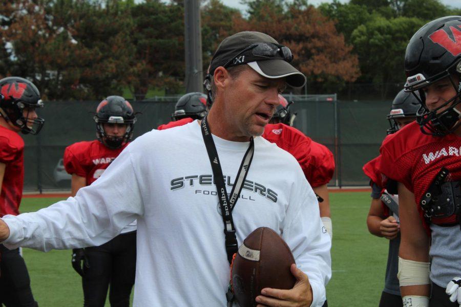 Westside+Head+Coach+Brett+Froendt+spoke+with+Frost+on+Thursday.