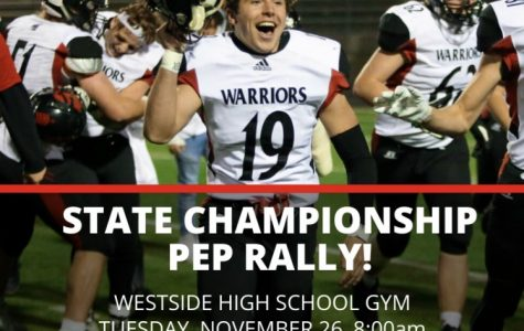 Westside High School Hosts Pep Rally To Support Football Team In State Championships
