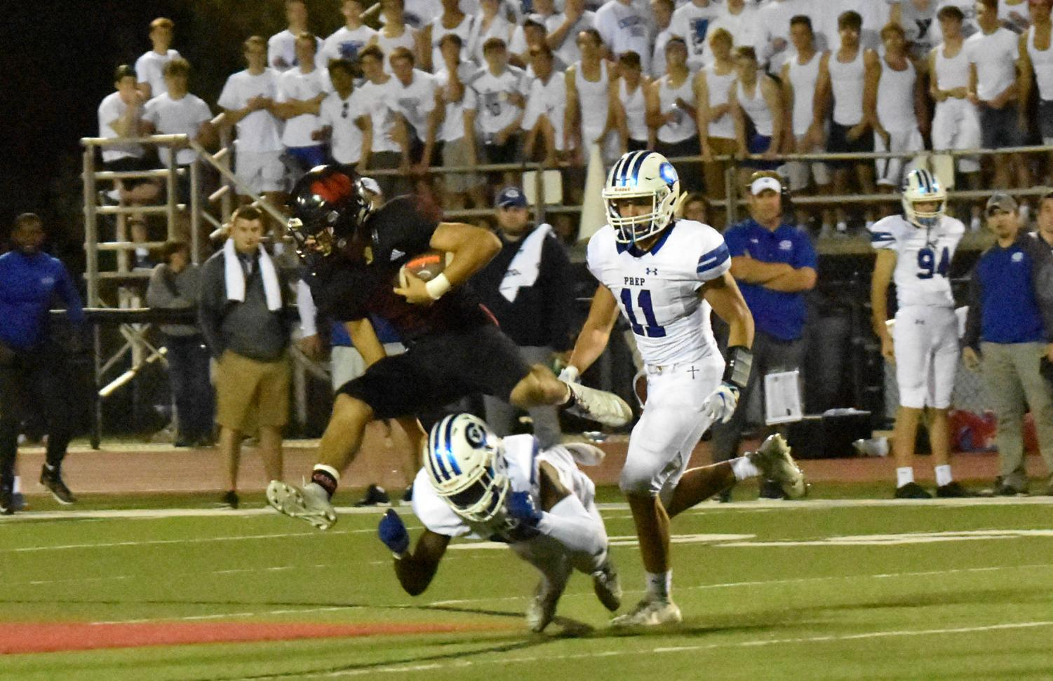 Westside hurdled Creighton Prep on Friday. Nov. 1, by a score of 49-13.