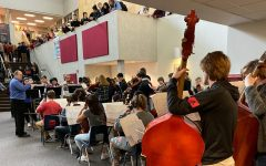 "Orchestra Performs Annual ""Flash Mob Concert"" In Landing"