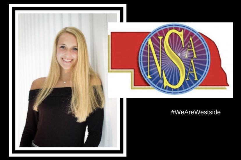 Senior Ella Wedergren was one of the 48 students chosen to receive this award.