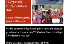 "Westside Cheer Hosts ""Parents Night Out"" Fundraiser"