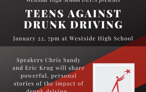 Westside DECA Students Begin Teens Against Drunk Driving Project