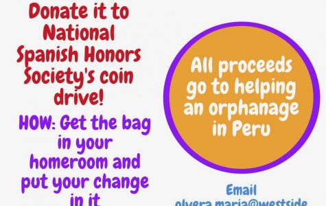 Spanish National Honors Society Hosts Coin Drive Fundraiser