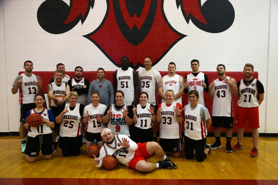 PHOTO GALLERY: Student vs. Staff Basketball Game