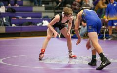Warriors Split Senior Night Duals