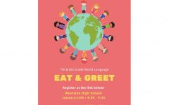 "Language Department Hosts ""Eat & Greet"" Event for Middle School Students"