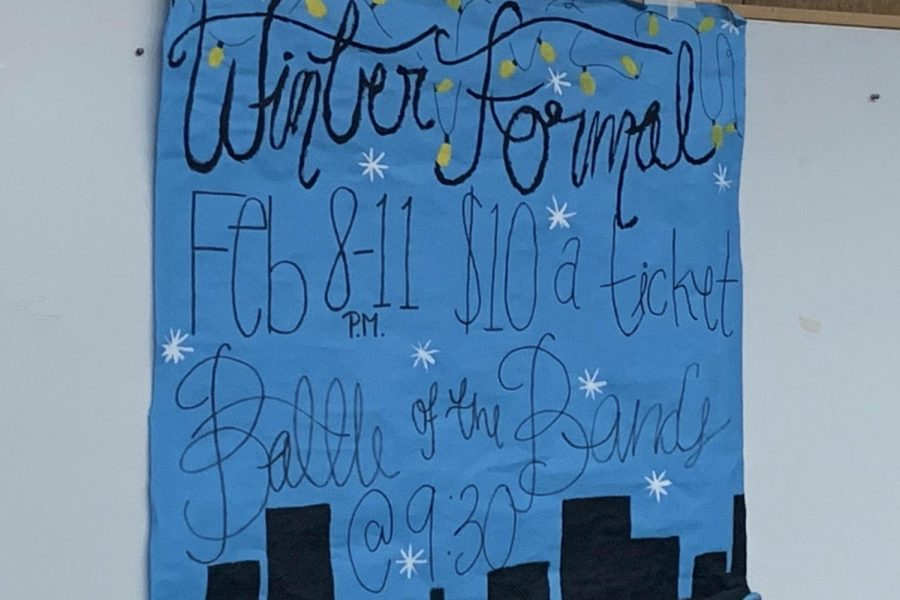 Student Council will host the annual Battle of the Bands at Winter Formal this Friday night, Feb. 7.