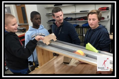 Westside Middle School Engineering And Technology Instructor Receives Award