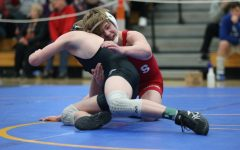 Kooper Brandle was one of the three freshman  out eight total wrestlers  who qualified for the state tournament.