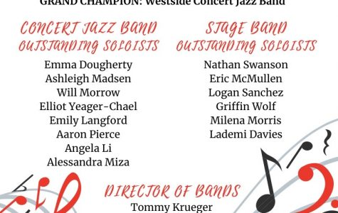 Westside Concert Jazz And Stage Band Earn Awards For Outstanding Soloists