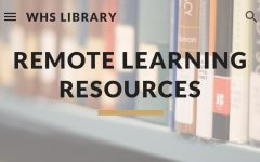 Westside High School Librarian Theresa Gosnell recently added free resources to the high school's library website for students to use during their time away from school.