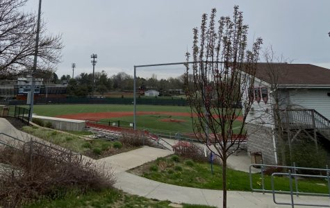 Westside High School's baseball field remains empty this spring, due to the cancellation of the spring sports season brought by public health and safety concerns from COVID-19.