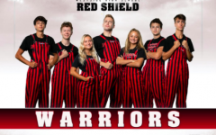 This year's Red Shield squad is hopeful that COVID-19 restrictions won't hold them back from the student section state championship three-peat.